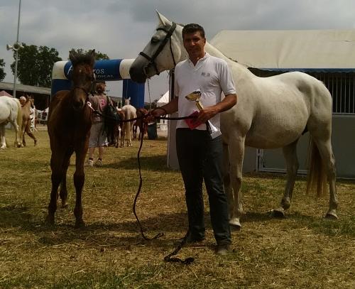 Foo Fighter du Fleuve remporte les foals mâles à Nerac